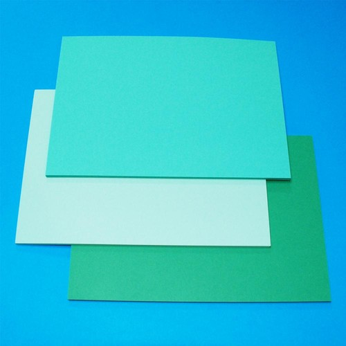 A5 Cards 60 Sheets Green (LINE41278)