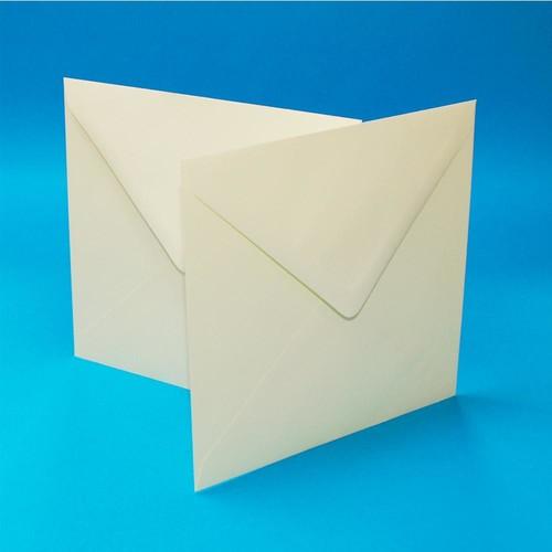 Envelopes 6 x 6 Inch Ivory 50 Pack (LINE608)