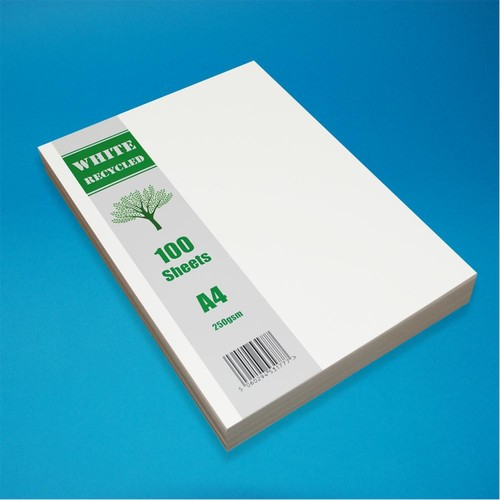 A4 White Recycled 100 Sheet Pack (LINEWR)