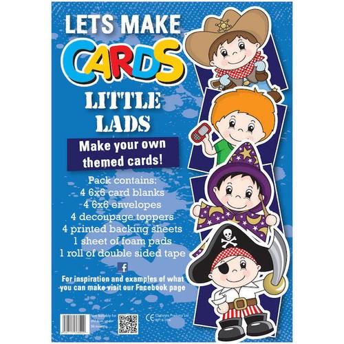 (LMC003) - Let's Make Kit - Little Lads