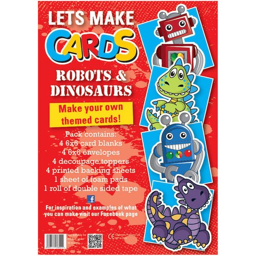 (LMC005) - Let's Make Kit - Robots & Dinos