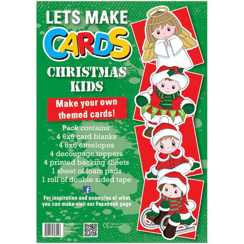 (LMC007) - Let's Make Kit - Christmas Kids