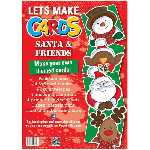 (LMC008) - Let's Make Kit - Santa & Friends
