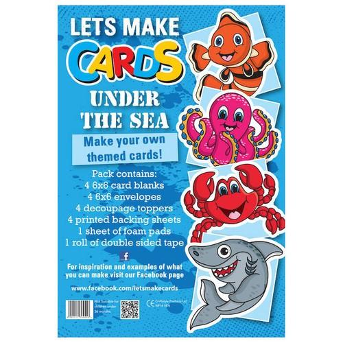 (LMC009) - Let's Make Kit - Sea Life