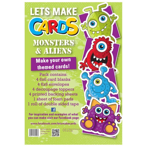 (LMC010) - Let's Make Kit - Monsters & Aliens