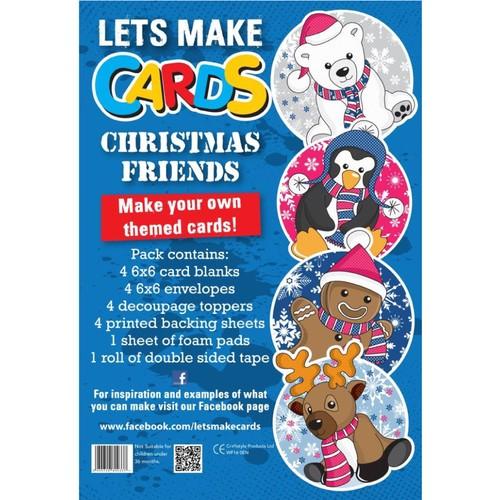 (LMC011) - Let's Make Kit - Christmas Friends