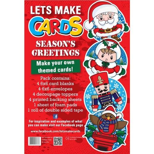 (LMC013) - Let's Make Kit - Seasons Greetings