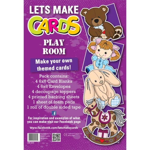 (LMC015) - Let's Make Kit - Play Room