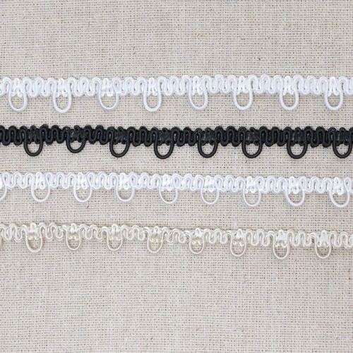 10mm x 25m Bridal Looping (ML46) (1 Off-White)
