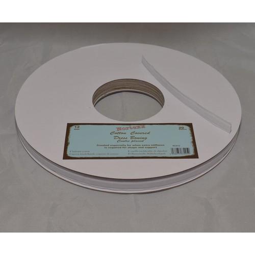 12mm (NCB12) Cotton Covered Plastic Boning x 20m