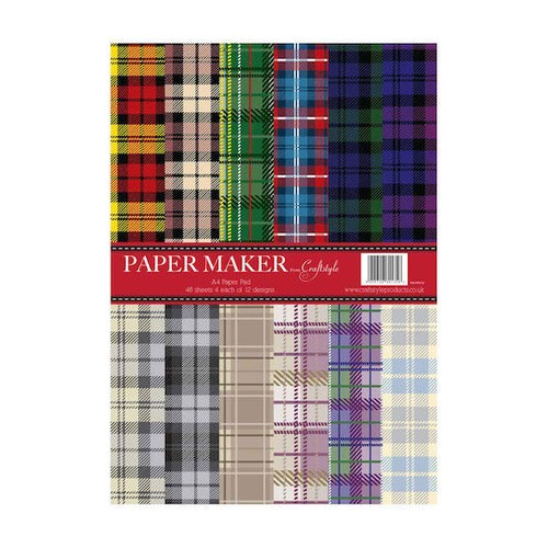 Papermaker Pad - Tartan (PMPP010)