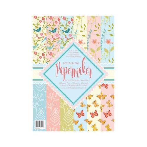 Papermaker Pad - Botanical (PMPP011)
