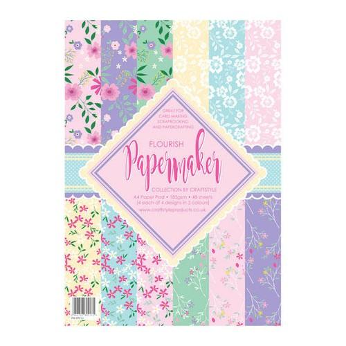 Papermaker Pad - Flourish (PMPP012)