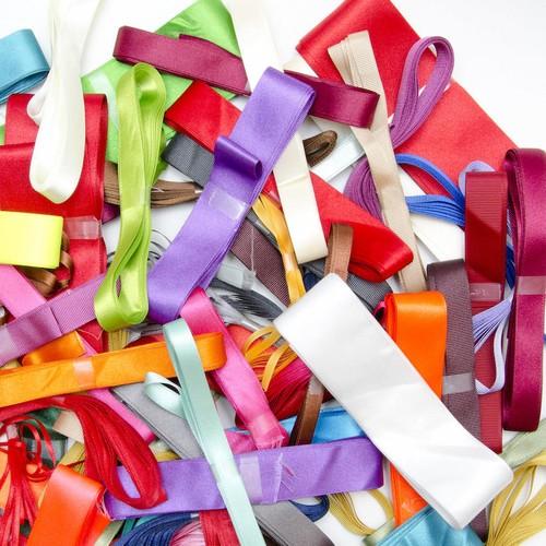 100 x 3m Plain Ribbon Bundles (RB1003)