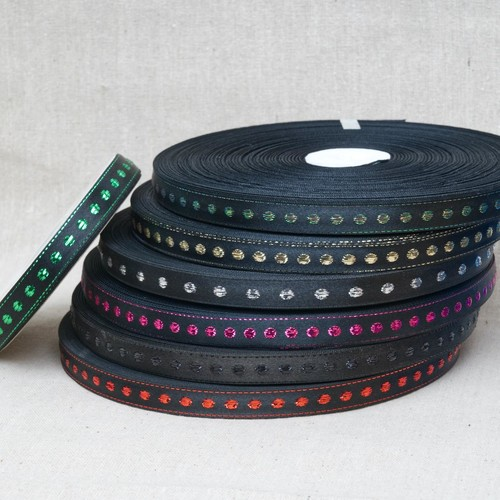 'Special Buy' Lurex Ribbon (SBMR3)(Gold/Black)