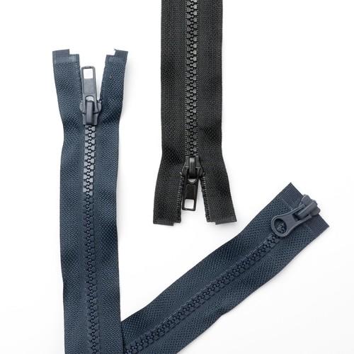 (TWZ22) Two Way Zips 56cm 22 Inch (Navy)