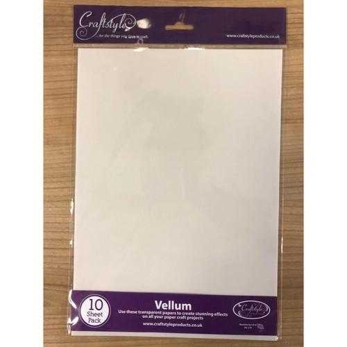 Vellum Paper - White
