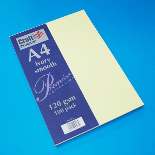Premium A4 Papers Ivory (W126)