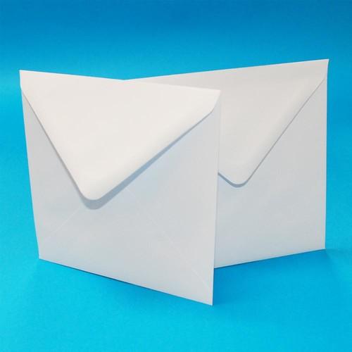 Envelopes 6 x 6 Inch White 50 Pack (W129)