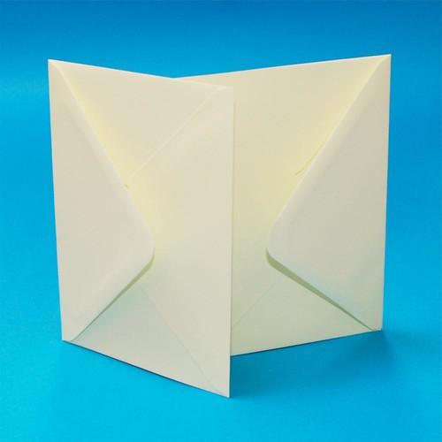 Premium Envelopes 6 x 6 Inch Ivory 50 Pack (W132)