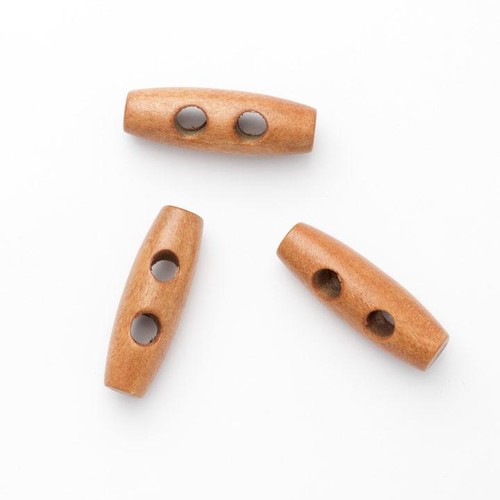 100 x 25mm Wooden Toggles (W24725)